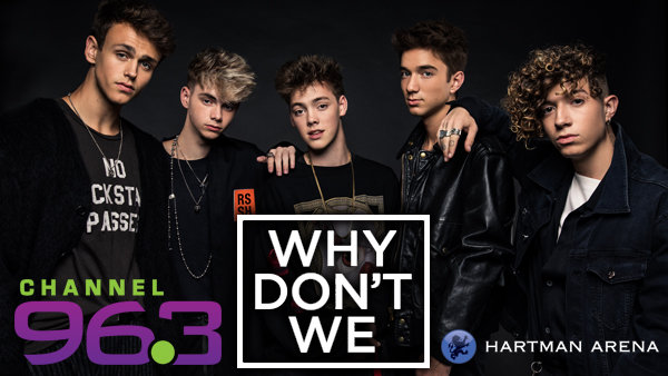 None - Win Tickets To Why Don't We At Hartman Arena!