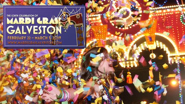 None -   Win tickets to Mardi Gras in Galveston!