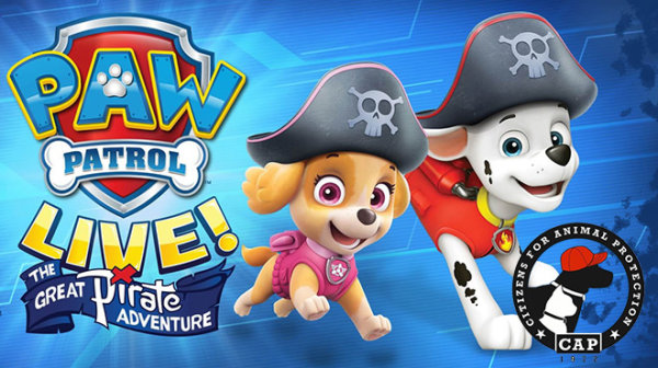None - Take the family on a live Paw Patrol adventure!