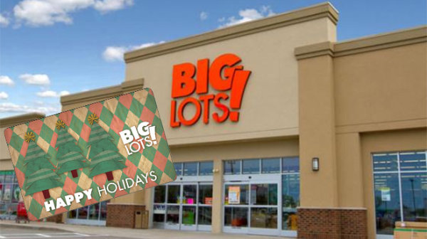 None -   Shop big with a $500 Big Lots gift card!