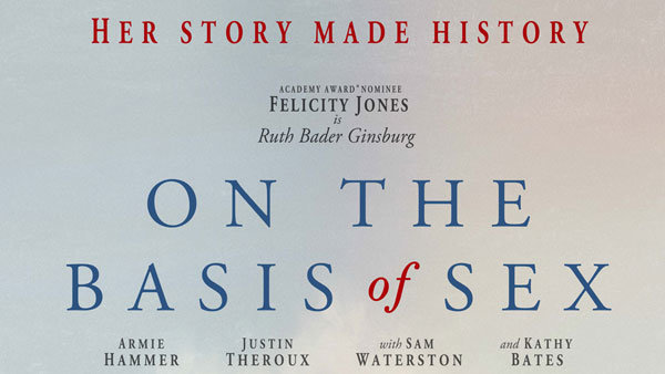 None -  Win a pair of Reserved Seats to our screening of ON THE BASIS OF SEX!