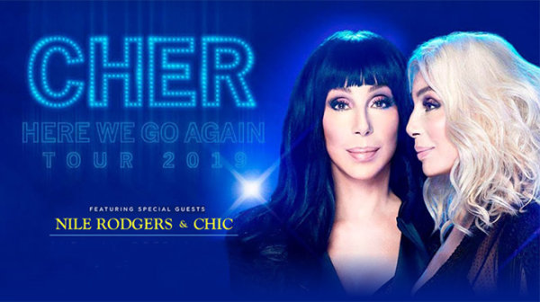 None - Do you believe it? We've got Cher tickets!