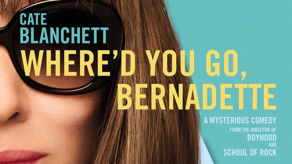 None - Win a 4-pack of tickets to see WHERE'D YOU GO, BERNADETTE!