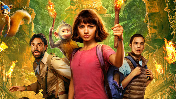 None - Win a 4-pack of tickets to see DORA AND THE LOST CITY OF GOLD!