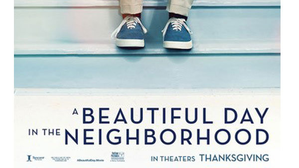 None - Win a 4-pack of tickets to see A BEAUTIFUL DAY IN THE NEIGHBORHOOD!