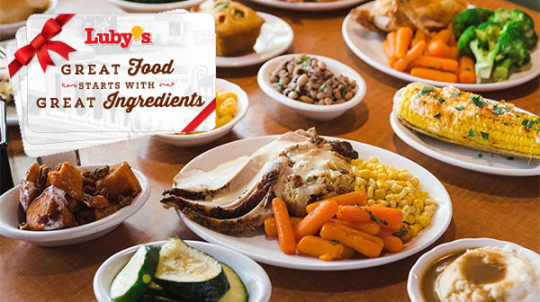 None - Season's Eatings! Here's a Luby's gift card.