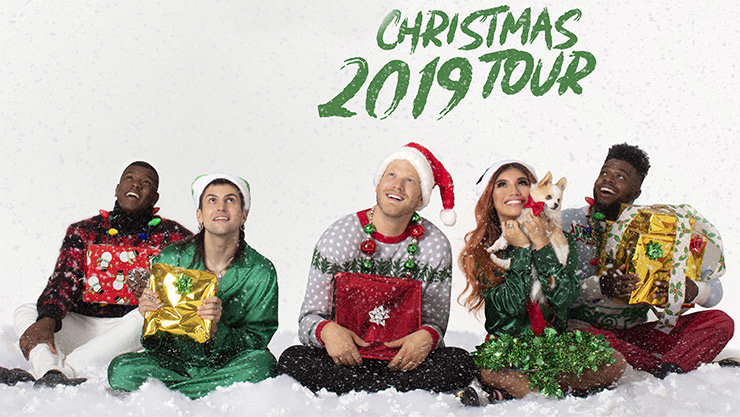 Image result for a pentatonix christmas tour