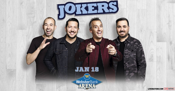 None -  Enter to win a pair of tickets to truTV Impractical Jokers The Cranjis McBasketball World Comedy Tour starring The Tenderloins coming to Webster Bank Arena on Friday, January 18th!