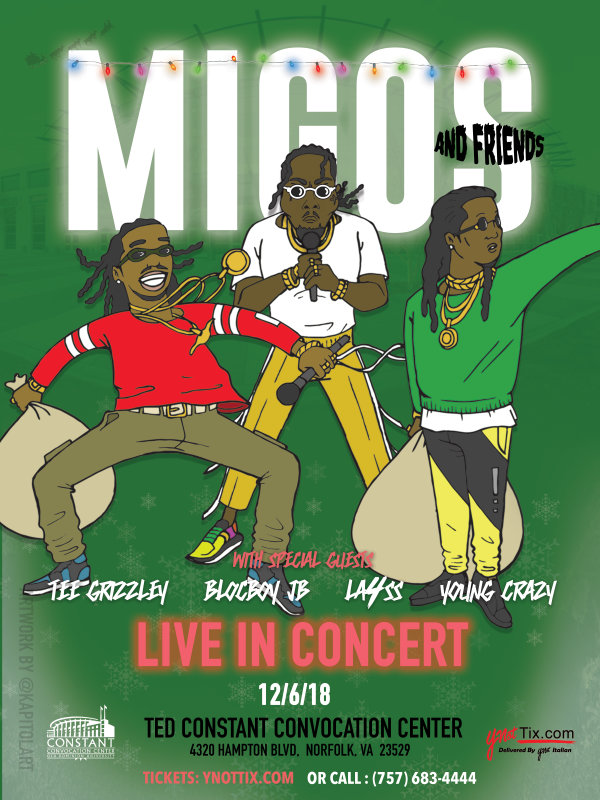 None - Win 4 Tix to see Migos at the Ted