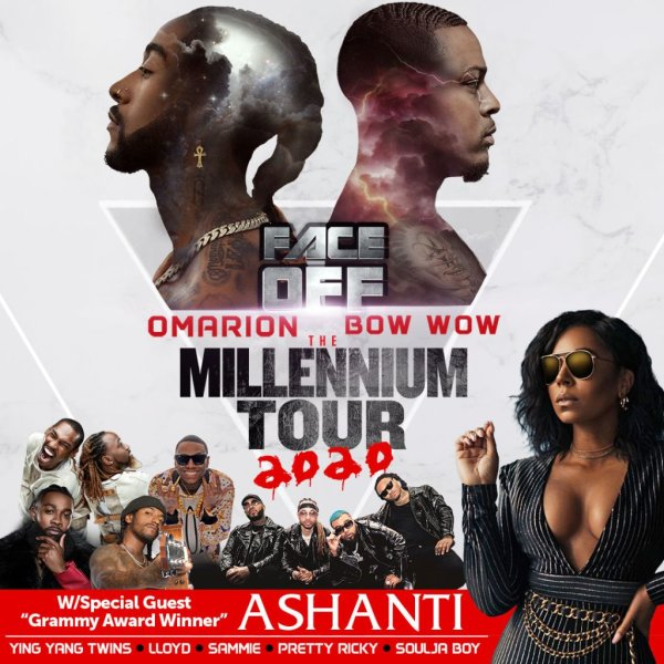 image for WIN 2 TICKETS WITH MEET AND GREET PASSES TO THE MILLENNIUM TOUR