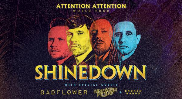 None -  Cheerwine Summer Ticket Window: Shinedown