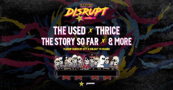 None -  Cheerwine Summer Ticket Window: Rockstar Energy Drink DISRUPT Festival