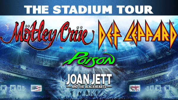 None - Win tickets to see Def Leppard & Motley Crue!