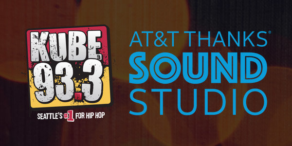 None - Join us in the KUBE 93.3 AT&T THANKS Sound Studio!