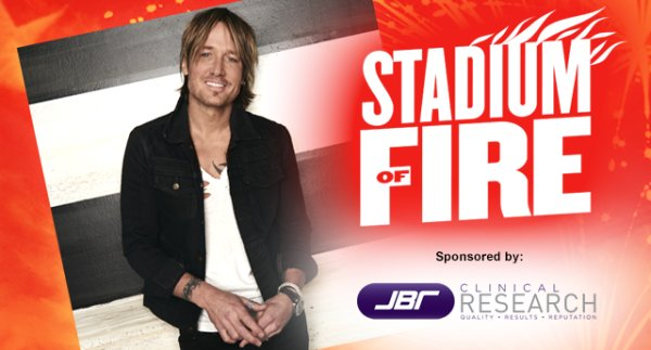 Win Tickets to Stadium of Fire!
