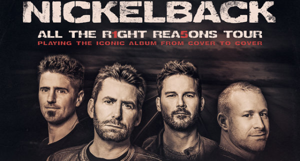 None - Win Tickets to See Nickelback and Stone Temple Pilots!