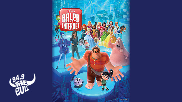 None -   Enter to Win An HD Digital Download of Ralph Breaks The Internet!