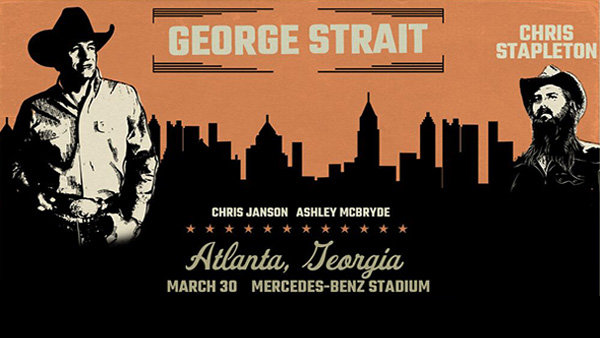None -           Win a pair of tickets to see George Strait