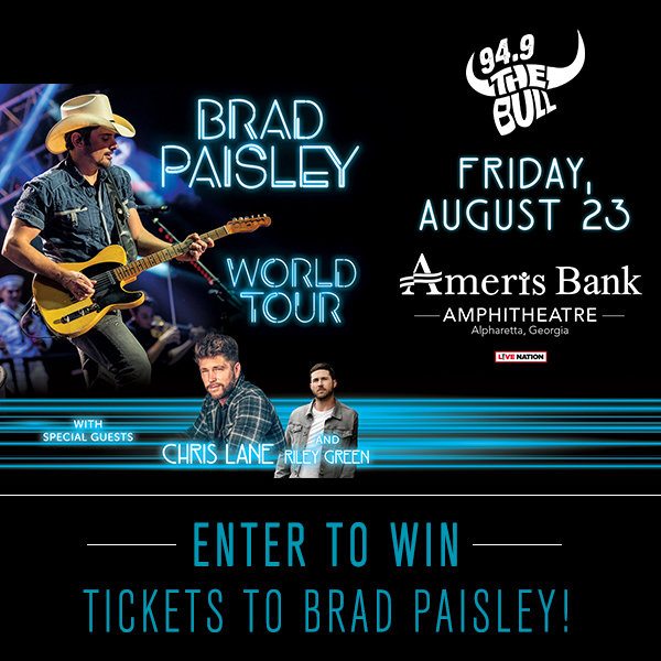 None - See Brad Paisley in Concert!