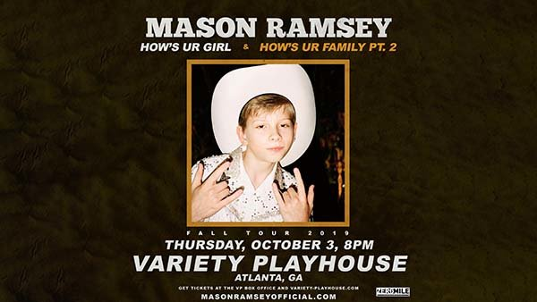 None -     Win Tickets to Mason Ramsey