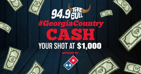 None - Win $1000 in Georgia Country Cash!