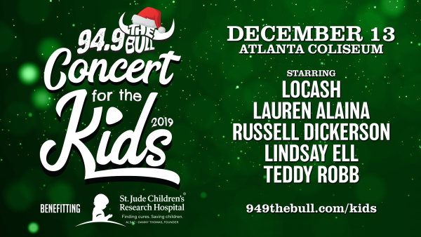 None - Win Tickets to 94.9 The Bull Concert for the Kids!