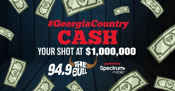 None - Win $1 Million in Georgia Country Cash