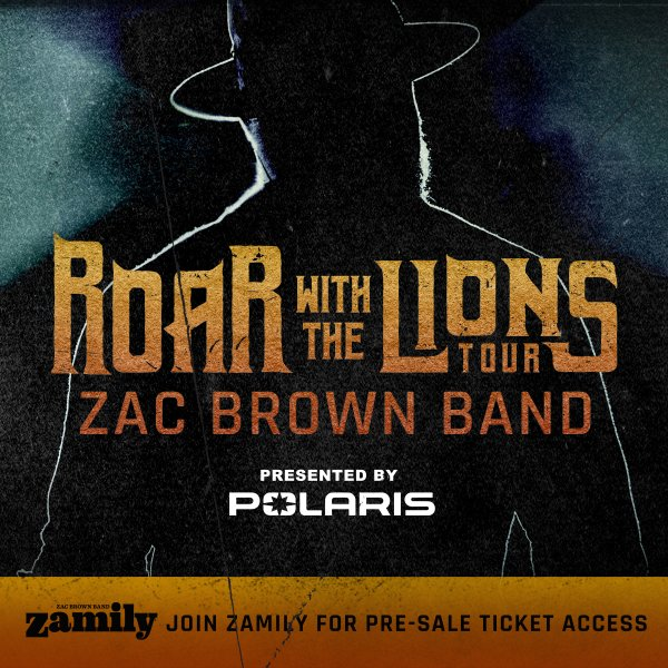 image for Win Tickets to Zac Brown Band Summer 2020 Tour at Truist Park!