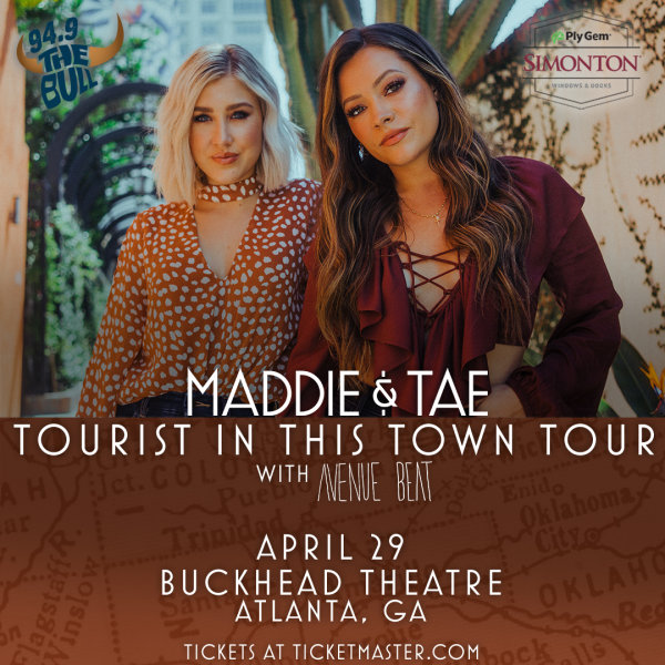 image for Win Tickets to Maddie & Tae!