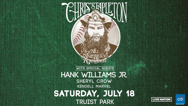 image for Win tickets to Chris Stapleton's All-American Road Show