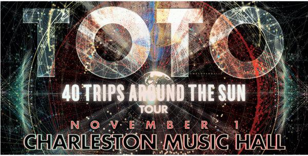None - Toto at the Charleston Music Hall on Thursday, November 1st