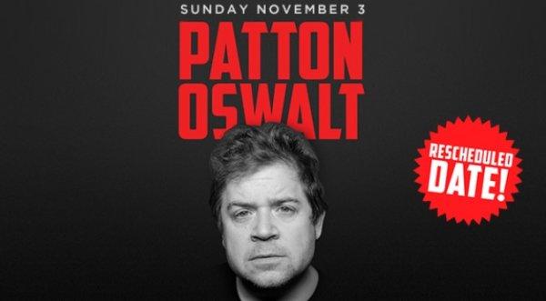 None - Patton Oswalt NEW DATE!