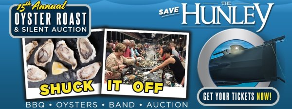 None - 15th Anuual Friends Of The Hunley Oyster Roast & Silent Auction