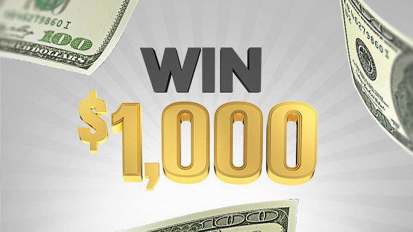 None -   $1,000 An Hour Cash Contest