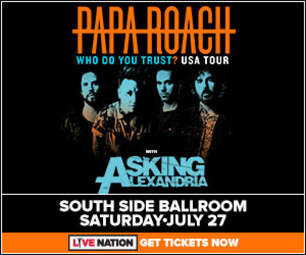 None - Enter to win Papa Roach tickets