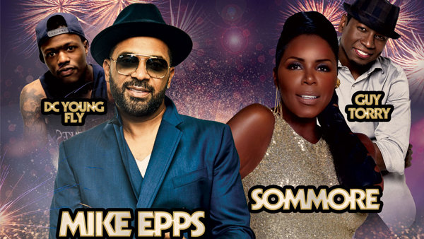 None -     New Year's Weekend Comedy Festival Featuring Mike Epps!