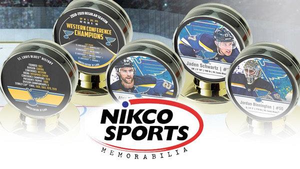 None - Nikco Sports Blues Puck Collection
