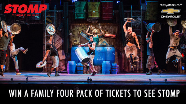 None -  Win A Family Four Pack of Tickets to See Stomp
