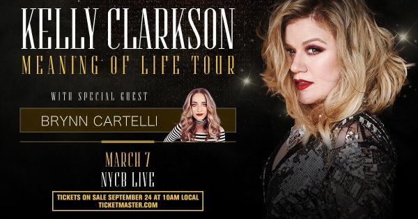 None - Win Tickets to See Kelly Clarkson on her Meaning of Life Tour