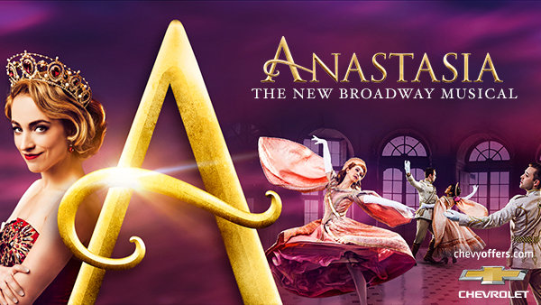None -  Win A Four Pack of Tickets to ANASTASIA courtesy of your local Chevrolet dealer