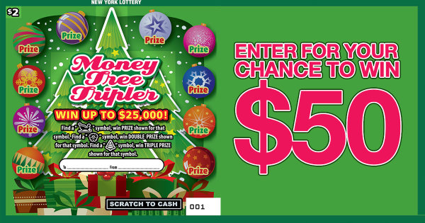 None -  Enter For Your Chance To Win $50 In Scratch-Off Tickets