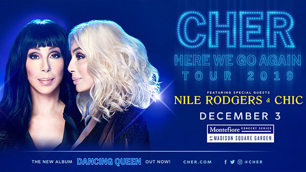 None -   Enter To Win Tickets To See Cher!