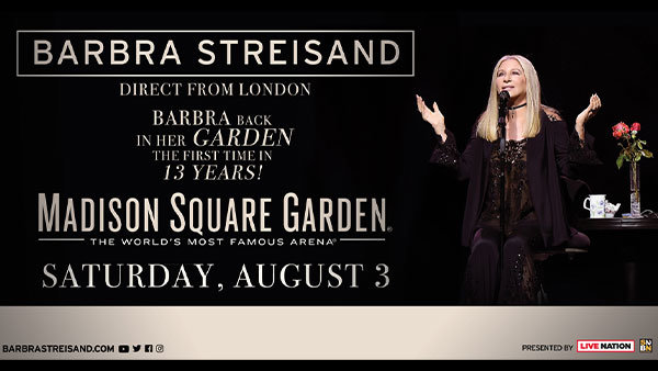 None - Enter To Win Tickets To See Barbra Streisand!