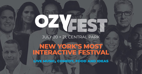 None - Enter for a Chance to Win Tickets to OZY Fest