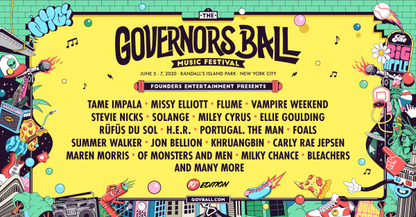 None - Enter To Win Tickets to The Governors Ball Music Festival