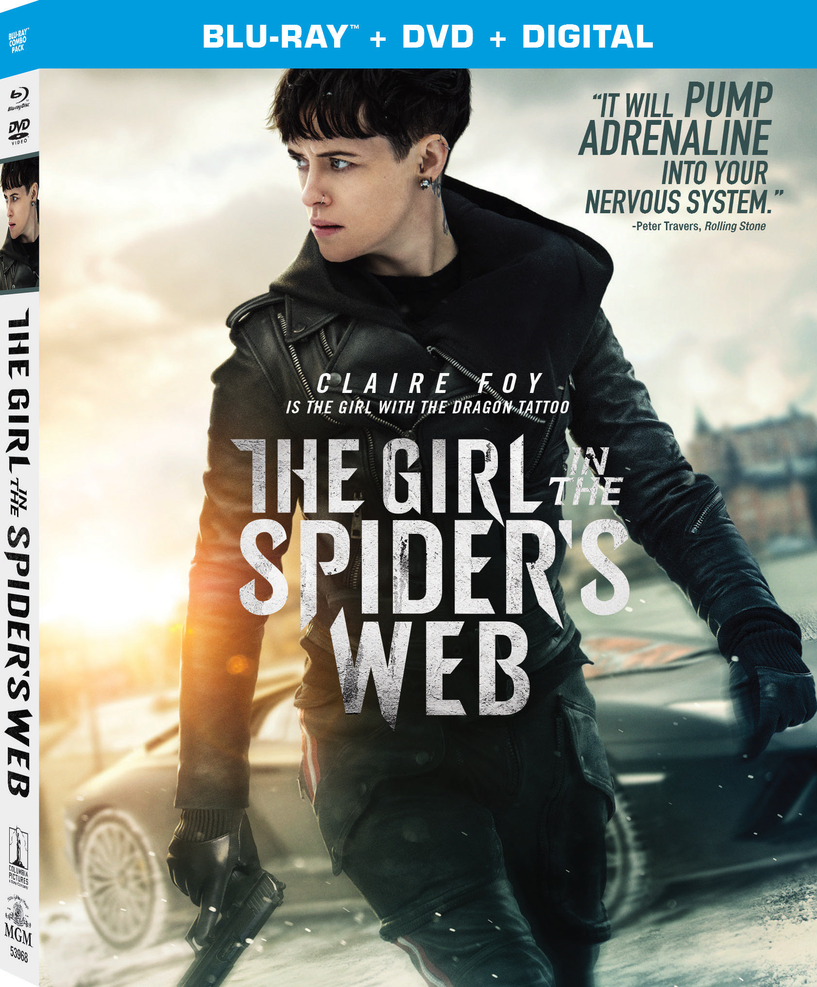 ENTER TO WIN THE GIRL IN THE SPIDER'S WEB ON BLU-RAY!