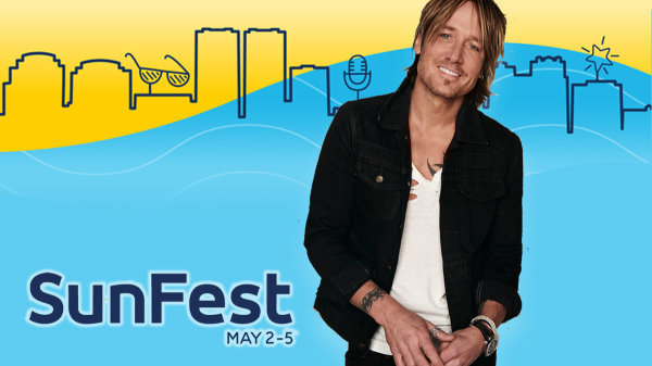 None -  Win Tickets & A Chance to MEET Keith Urban at SunFest!