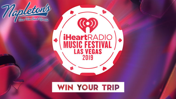 None -  Listen to win a VIP trip to our 2019 iHeartRadio Music Festival!