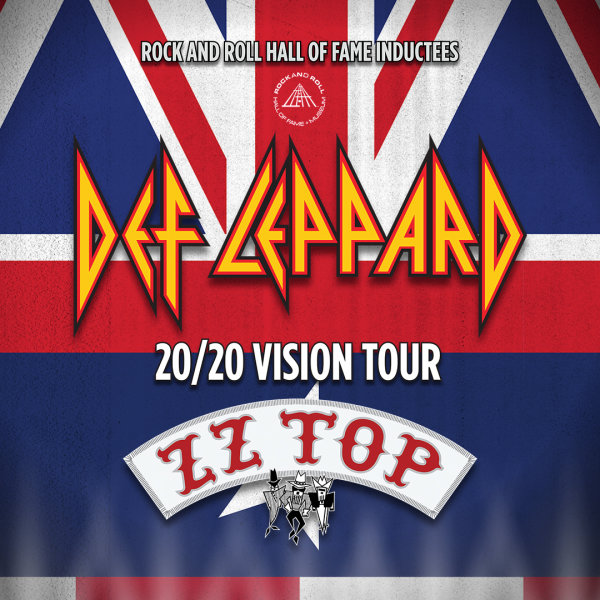 Win a pair of tickets to see Def Leppard and ZZ TOP at the Wharf!