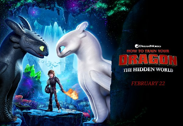 None - Win How To Train Your Dragon: The Hidden World Advance Screening Passes